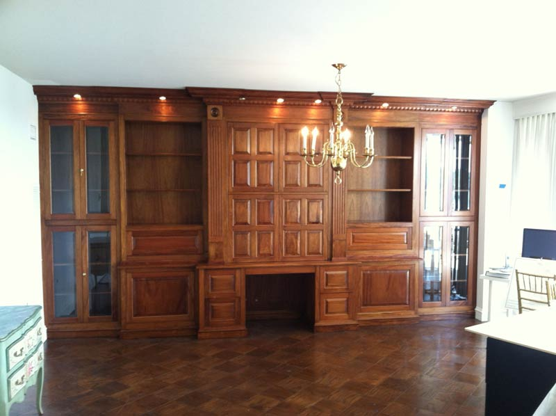 Hutch with restored wood