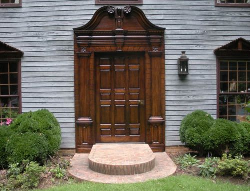 Exterior Door Refinishing