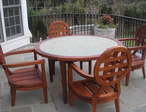 Teak Outdoor Furniture Restoration
