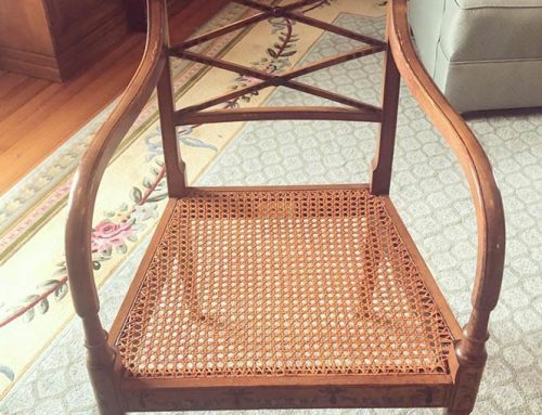 Hand Cane Seat Replacement